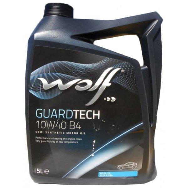 Двигателно масло WOLF GUARDTECH 10W40 B4 4л